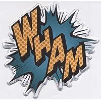 C&D Visionary DC Comics Batman Wham Patch Iron-On Patches (P-DC-0189)