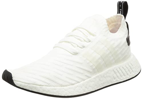 new concept d0081 969c1 Adidas NMD R2 Primeknit BY3015 Triple White (7.5): Amazon.ca ...
