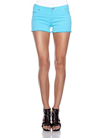 Vertigo Paris Short - Femme Vert Turquoise 42  Amazon.fr  Vêtements ... ee3ac38159f
