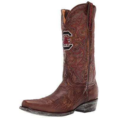 NCAA South Carolina Fighting Gamecocks Men's Board Room Style Boots: Sports & Outdoors