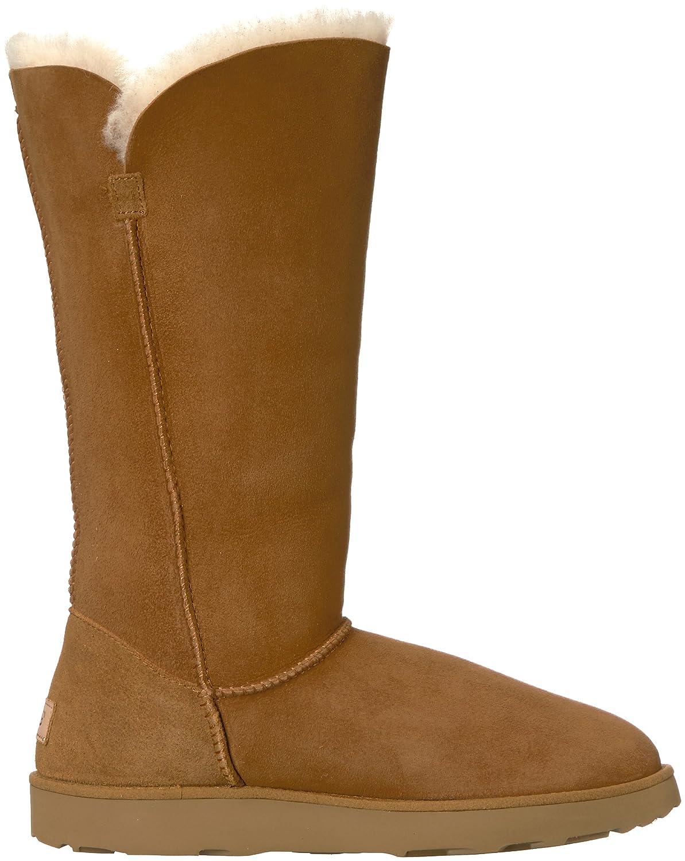 f0134bfc67e UGG Women's Classic Cuff Tall Winter Boot, Chestnut, 8 M US: Amazon ...