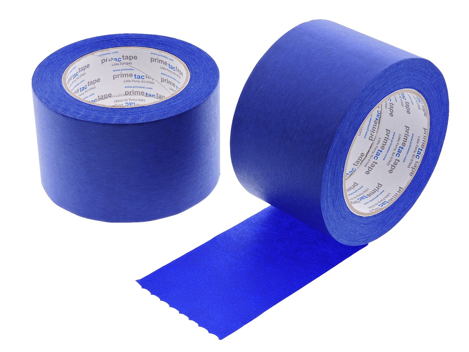 WhiteCore 2pk 3'' x 60 yd Blue Painters Tape PROFESSIONAL Grade Masking Edge Trim Easy Removal (72MM 2.83 in)