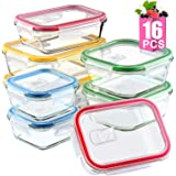 Mealcon Glass Meal Prep Containers