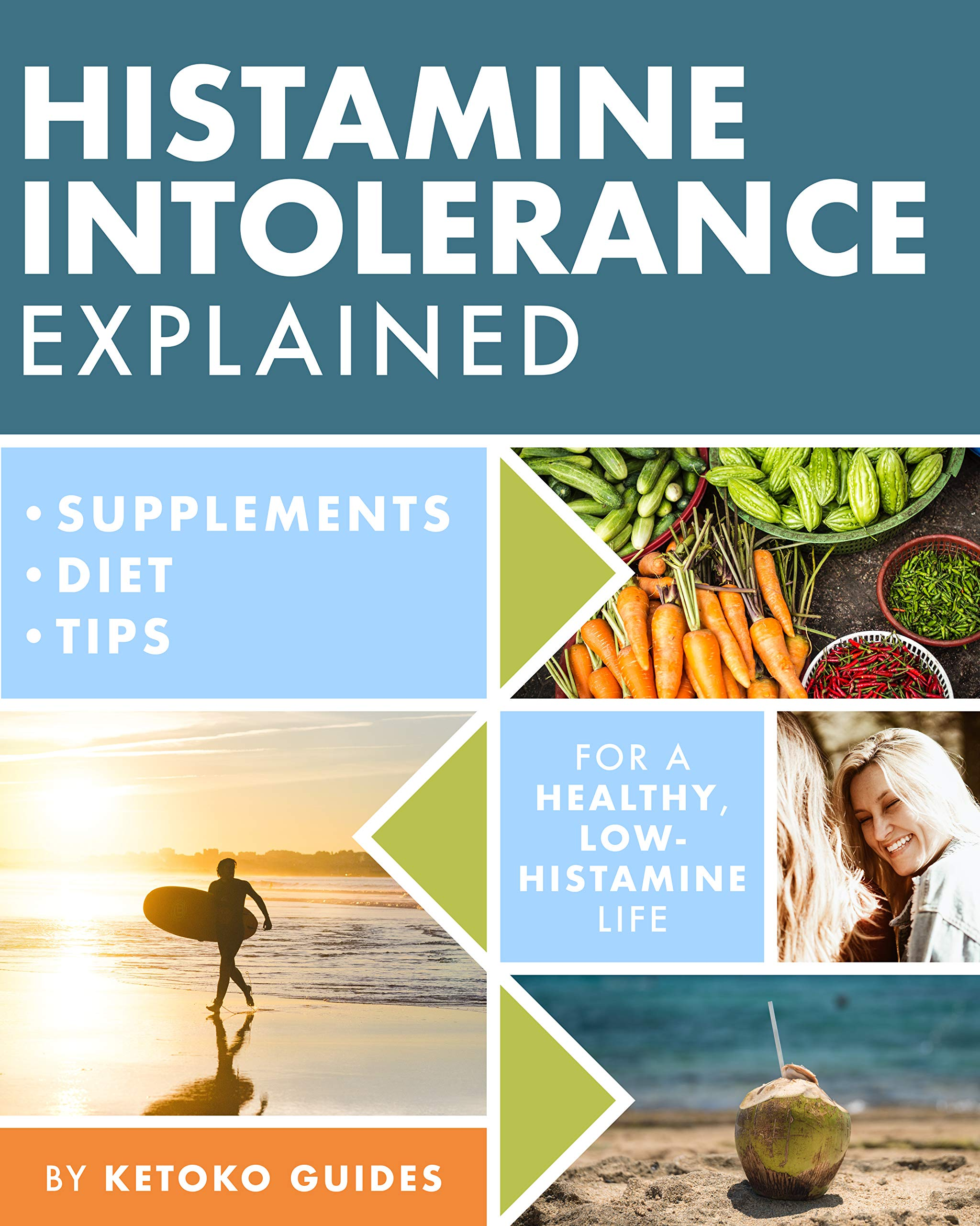 Histamine Intolerance Explained  12 Steps To Building A Healthy Low Histamine Lifestyle Featuring The Best Low Histamine Supplements And Low Histamine Diet  English Edition