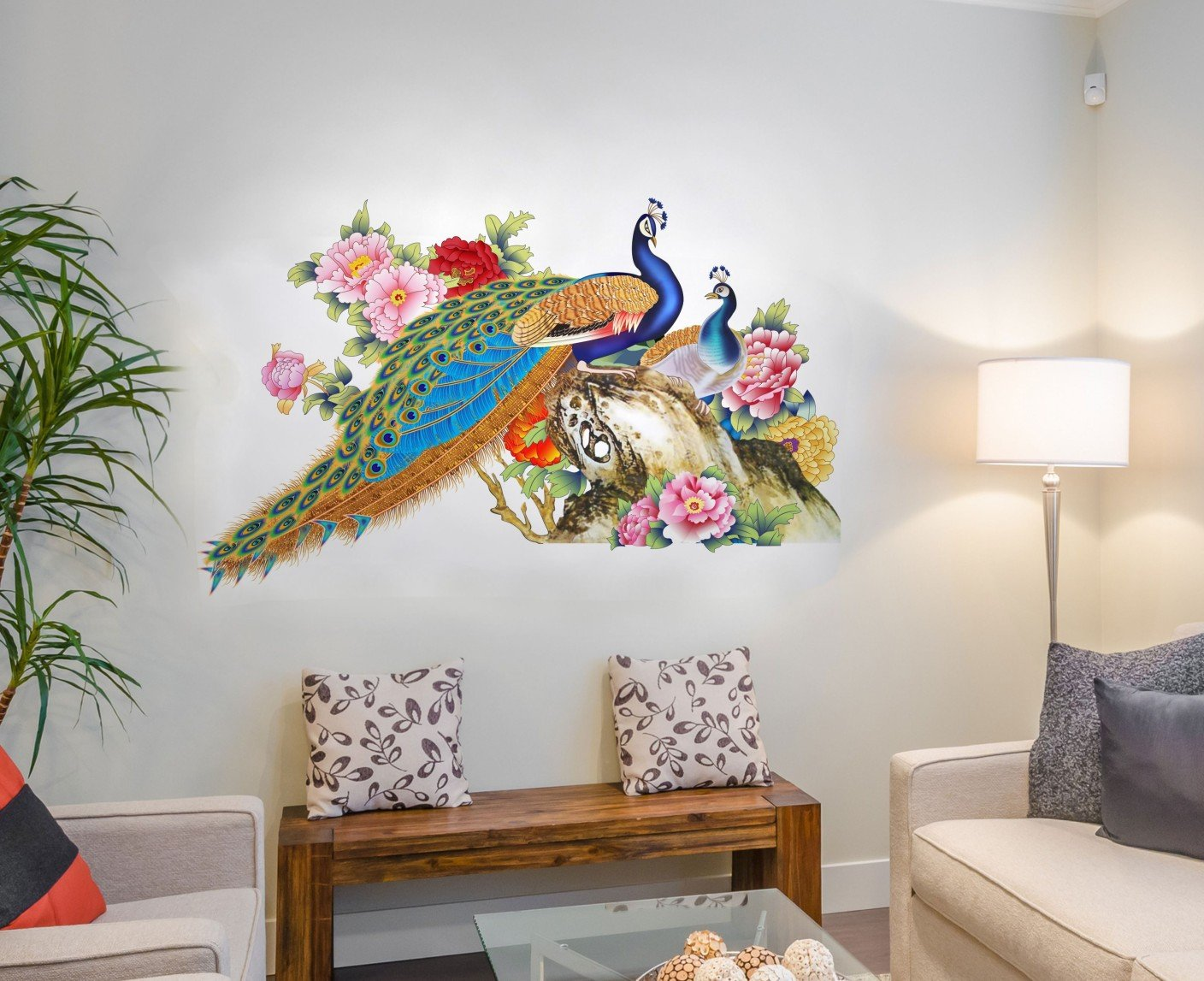 Living Room Wall Stickers: Buy Living Room Wall Stickers Online at ...