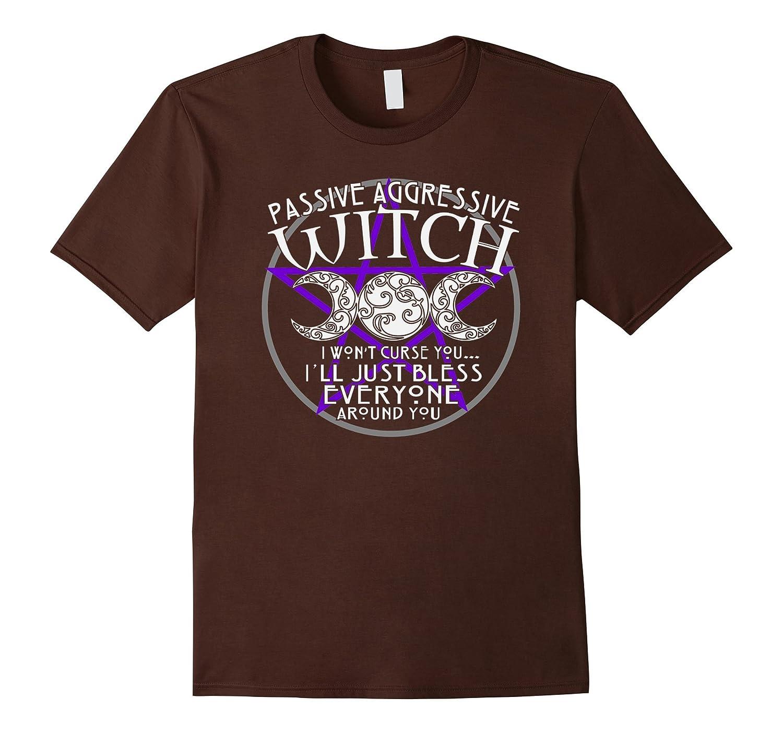 Womens Wiccan Passive Aggressive Cranberry-Awarplus