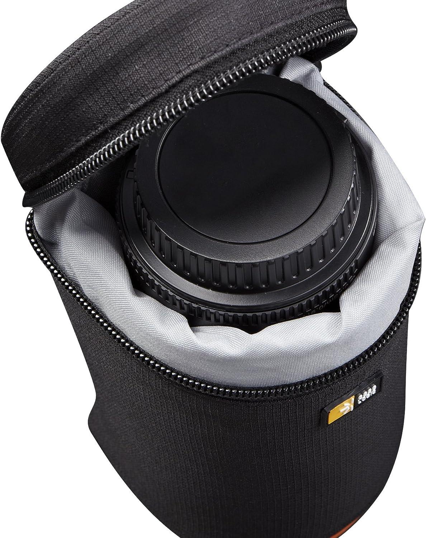 Case Logic SLRA-1 - Bolsa para Objetivos de cámara, Negro: Amazon ...
