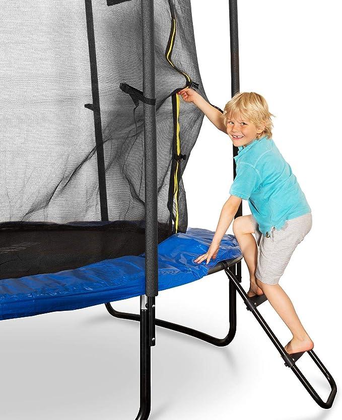 Klarfit Rocketboy 250 Cama elástica trampolin con Red de Seguridad ...
