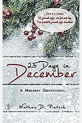 25 Days in December Paperback