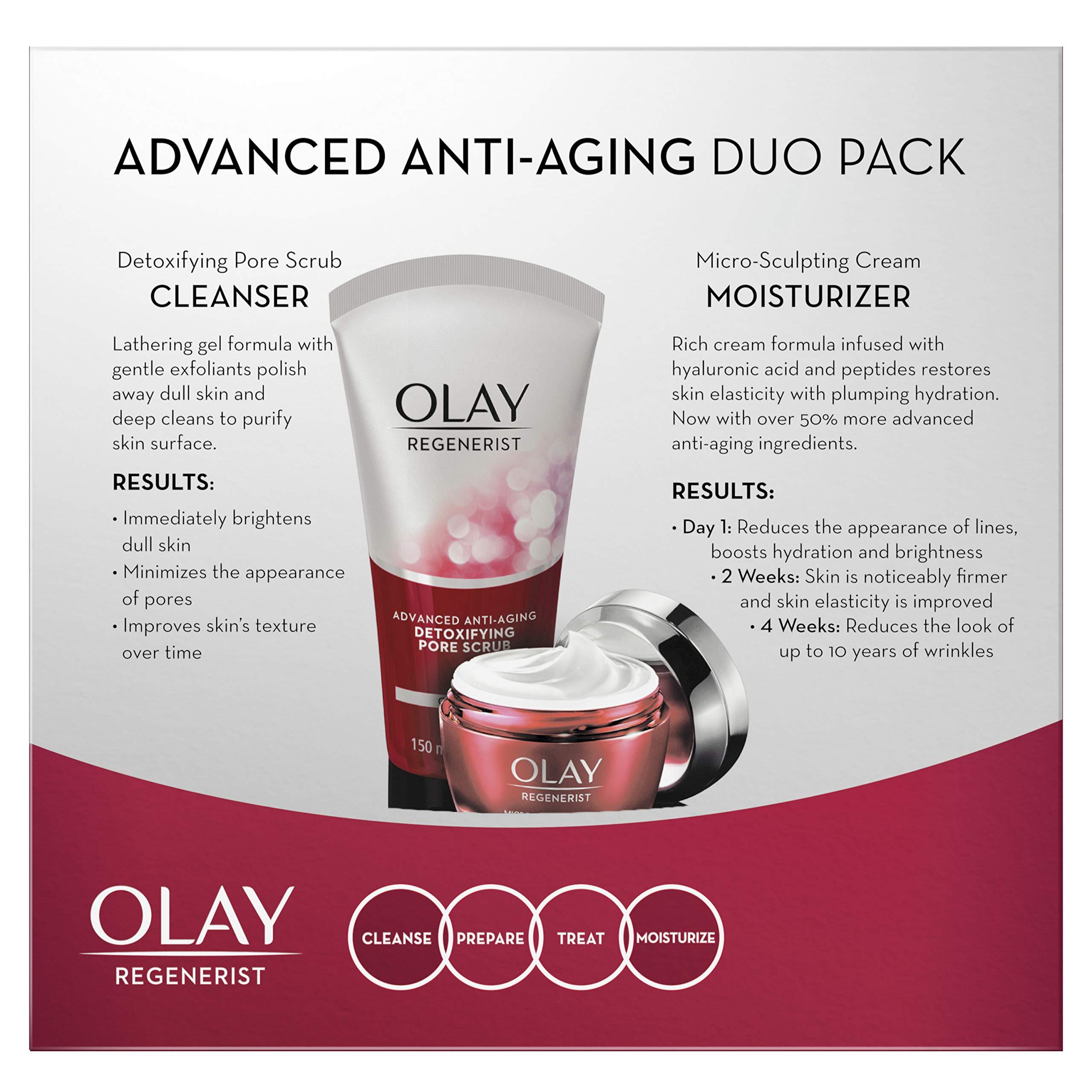 Advanced Anti-Aging Pore Scrub Cleanser