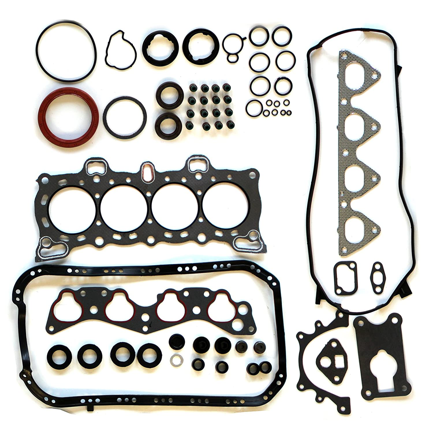 fit 1.5L 1.6L Honda Civic CRX D15B2 D15B7 D15B8 D16A6 1988 /¨C 1995 Engine Head Gaskets Automotive Replacement Gasket Sets SCITOO Compatible with Head Gasket Sets
