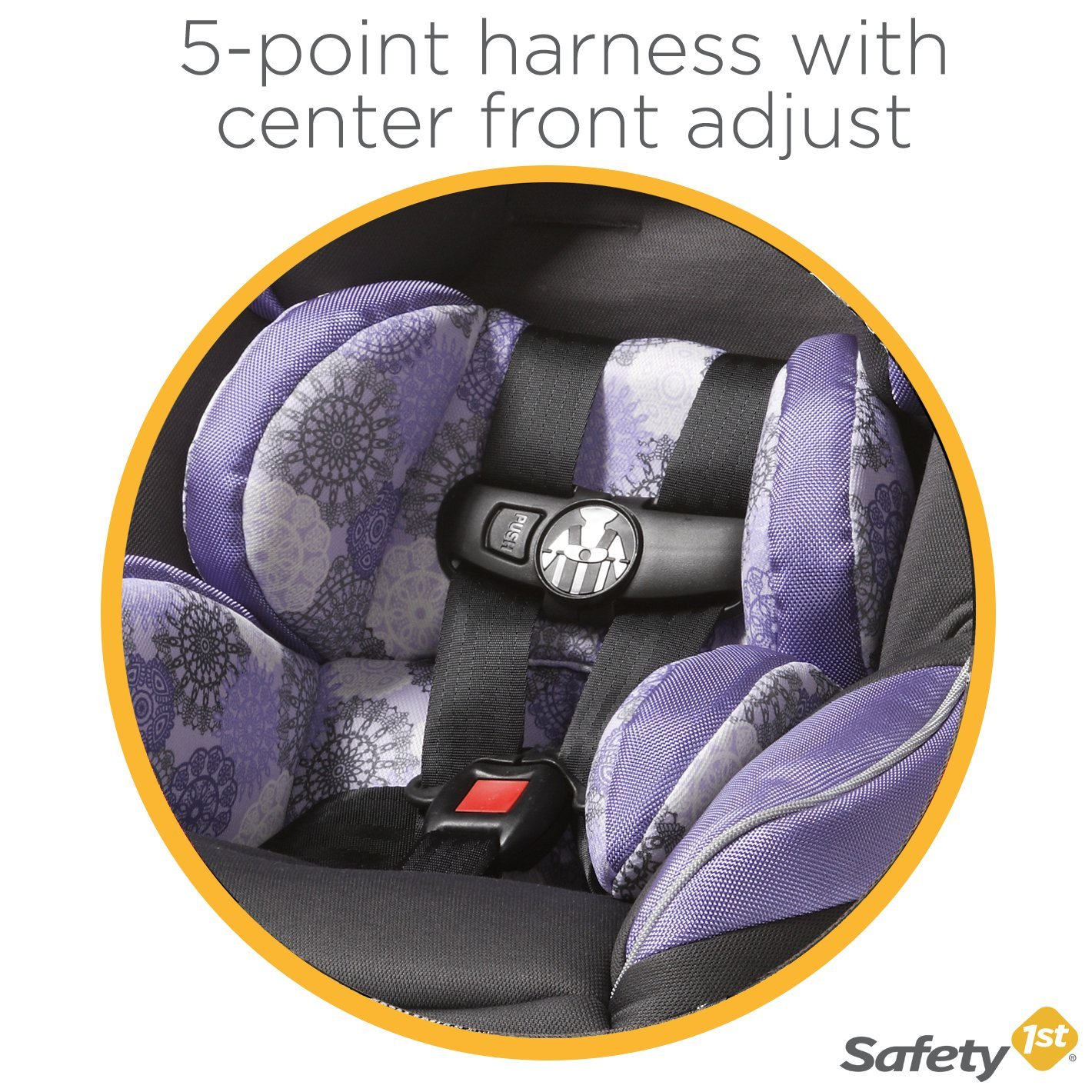 Safety 1st Guide 65 Convertible Car Seat Chambers CC078CMI