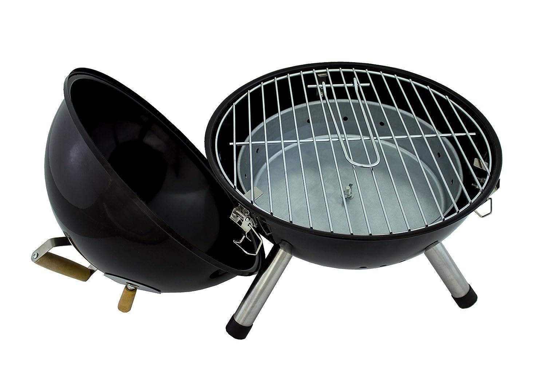 Karcher 124801 BBQ Mini barbacoa esférica de carbón, negra: Amazon.es: Jardín
