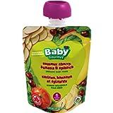 Baby Gourmet Summer Cherry Banana & Spinach Pack of 12