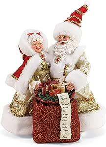 """Department 56 Possible Dreams Santas Golden Years Figurine, 10.5"""", Multicolor"""