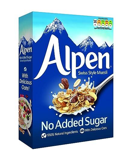 Weetabix Alpen Cereales sin azúcar 560 g, 1er Pack (1 x 560 ...