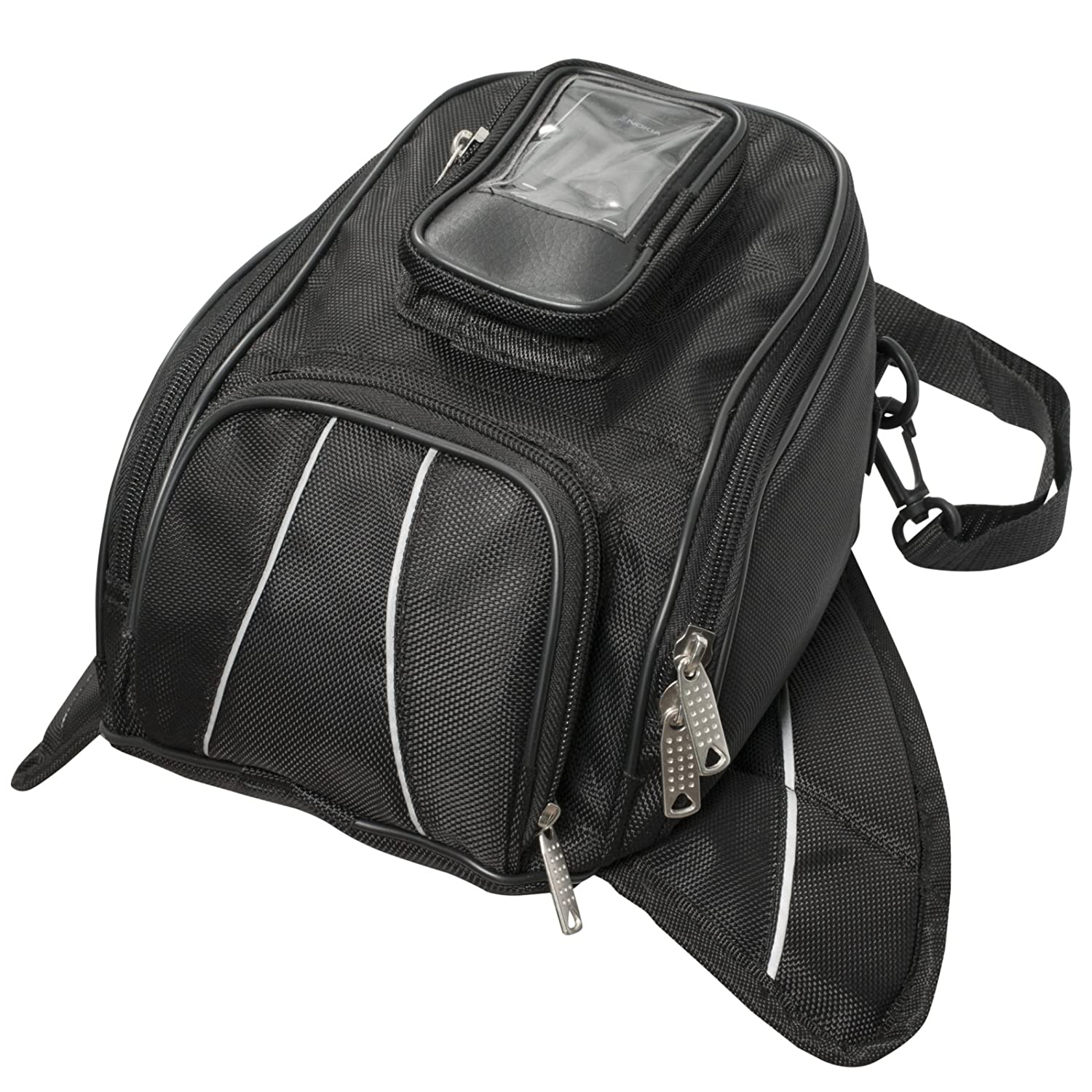 A-Pro Motorcycle Motorbike Luggage Tank Bag Waterproof Magnetic GPS Phone Pouch