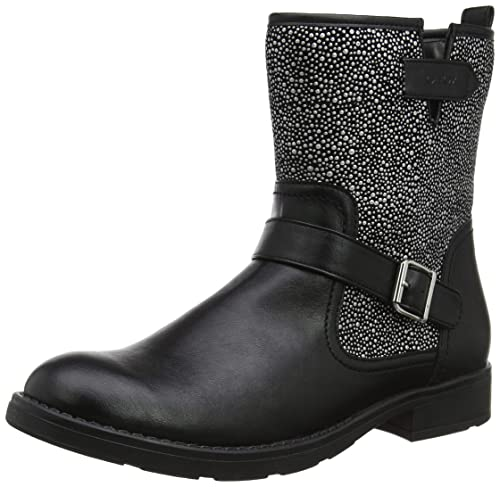 a9c9e5aed91b Geox Girls  Jr Sofia K Biker Boots  Amazon.co.uk  Shoes   Bags