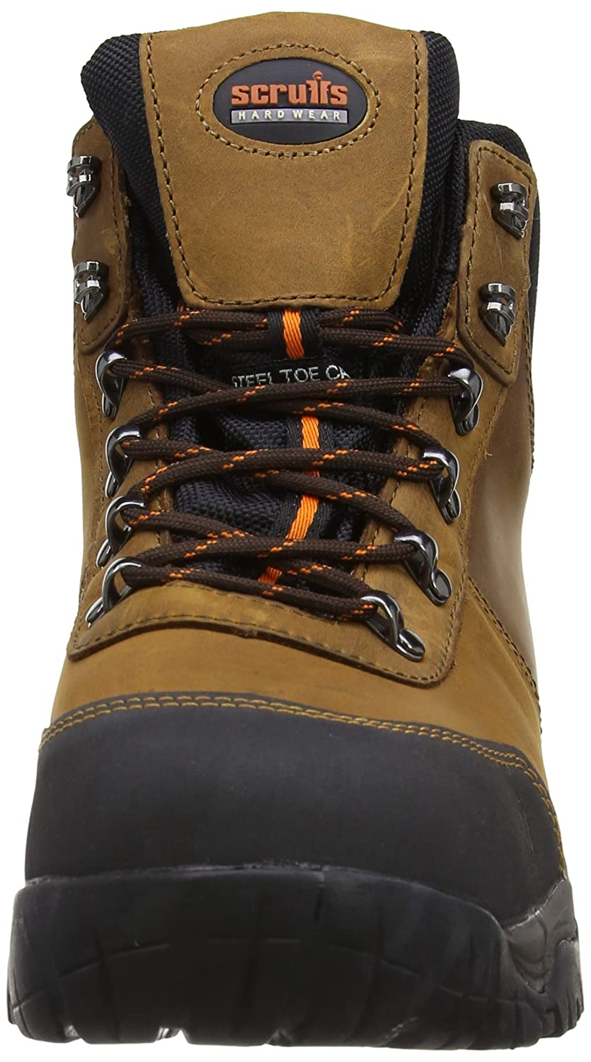 828b64b1f56 Scruffs Mens Assault Hiker SBP Safety Shoes T52007 Brown 7 UK, 41 EU