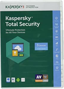 Kaspersky Total Security 2017 | 3 Device/1 Year (Key Card)