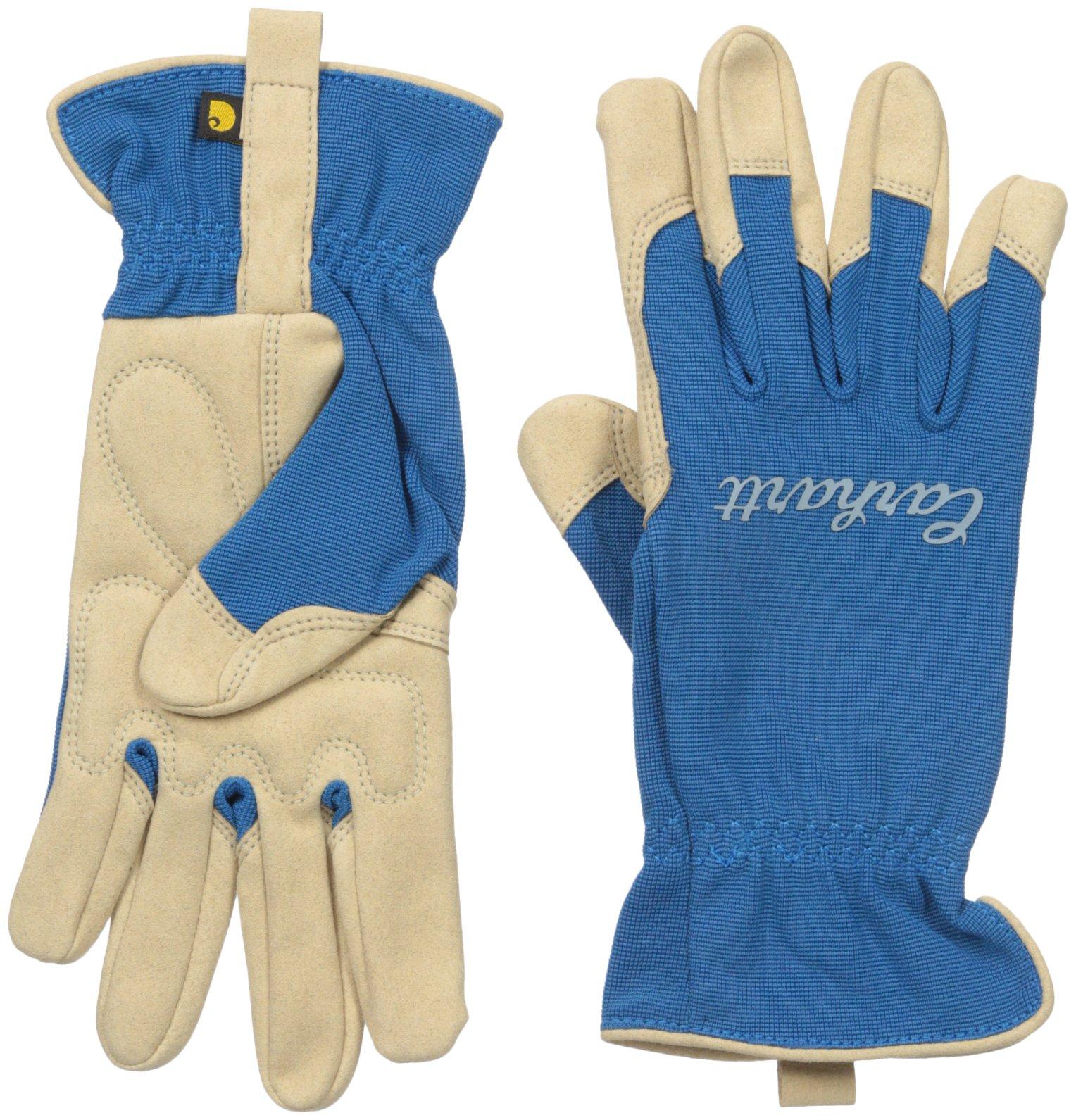 Carhartt Women's Perennial High Dexterity Glove, Island Blue, Medium