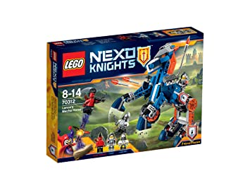 lego 70312 nexo knights jeu de construction le mcha cheval de