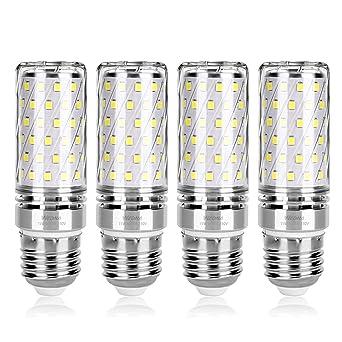 Wedna E27 LED maíz bombilla, 15W Blanco Frío, 120W Incandescente ...