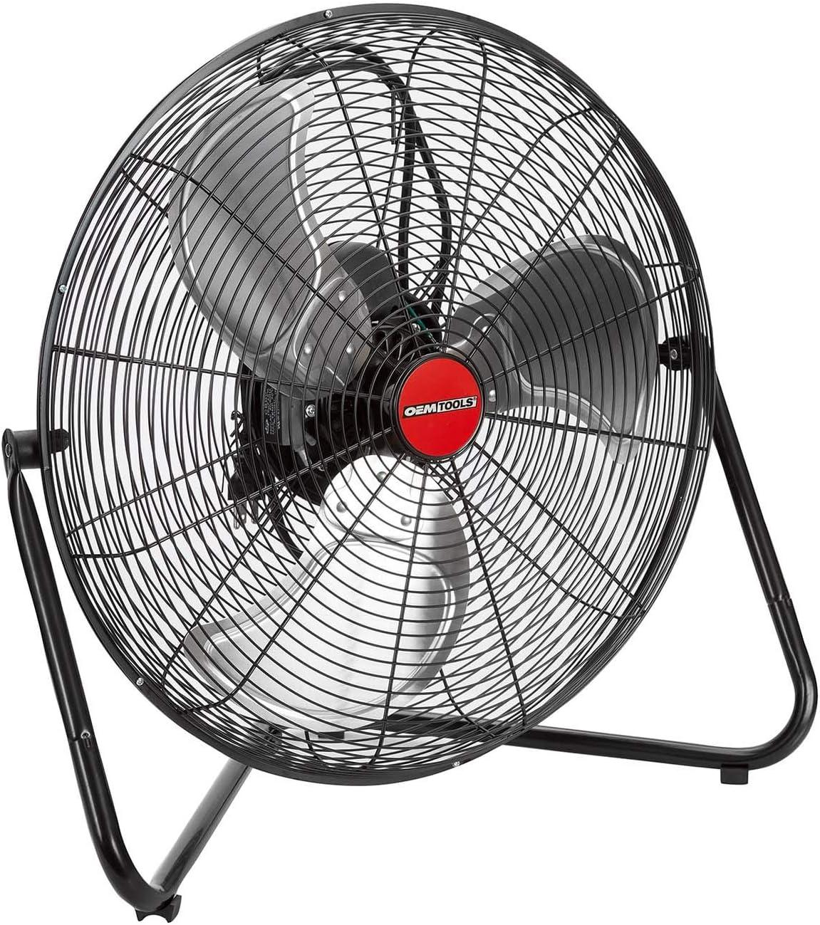 Oem Tools 20 Inch High Velocity Floor Fan
