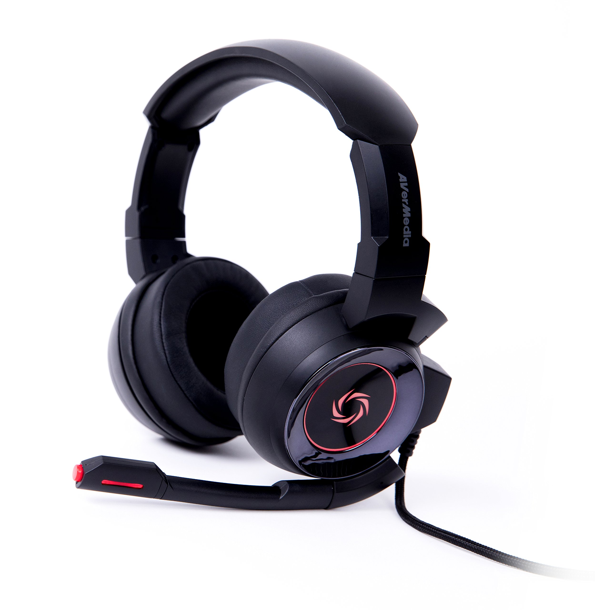 AVerMedia SonicWave USB 7.1 Gaming Headset for PC, Mac, PS4,