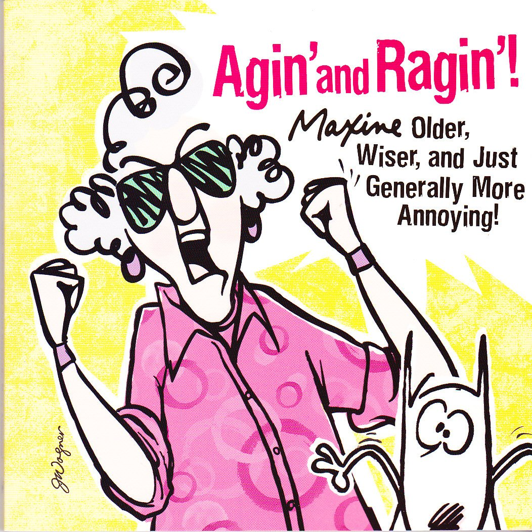 Download Agin' and Ragin': Maxine -- Older, Wiser, and Just Generally More Annoying! (Maxine) PDF