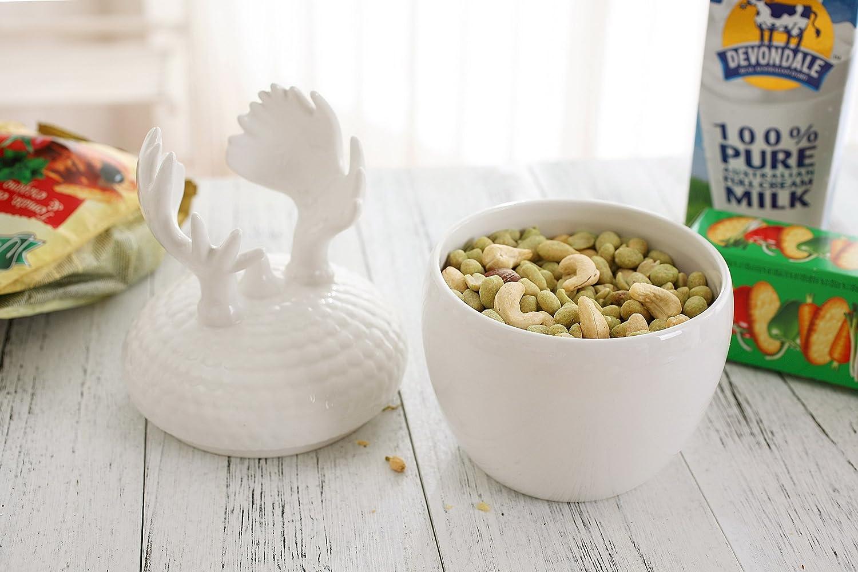 amazon com cookie jars ceramic canister 28 oz for coffee sugar