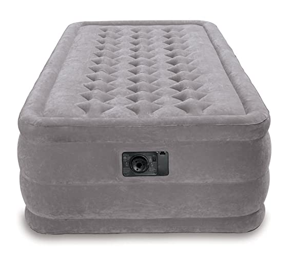 Amazon.com: Intex Ultra Plush – Cama hinchable con bomba ...