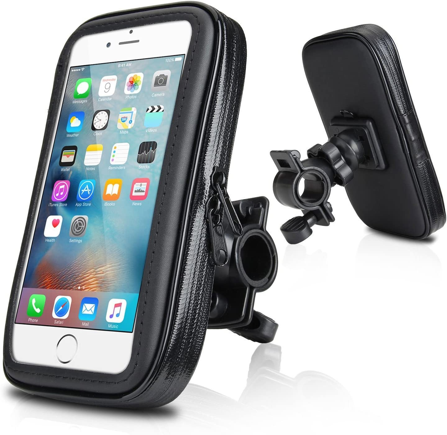 Water-Resistant Cyclists Case//Bike Handlebar Mount for Huawei P9 Lite Smartphone