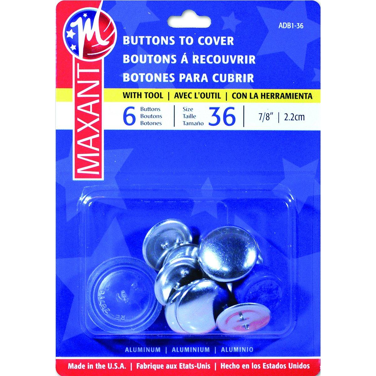 dritz craft cover button kit size 36 - Siteze