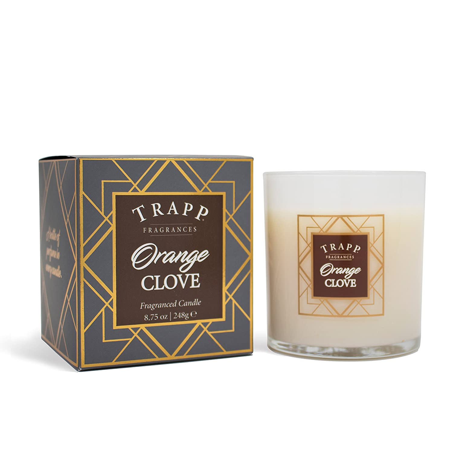 Trapp Seasonal Collection Fireside Pumpkin Poured Scented Candle, 7-Ounce Trapp Fragrances 60794