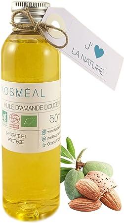 Aceite De Almendras Dulces BIO 50 ml - Hecho En España - 100% Puro ...
