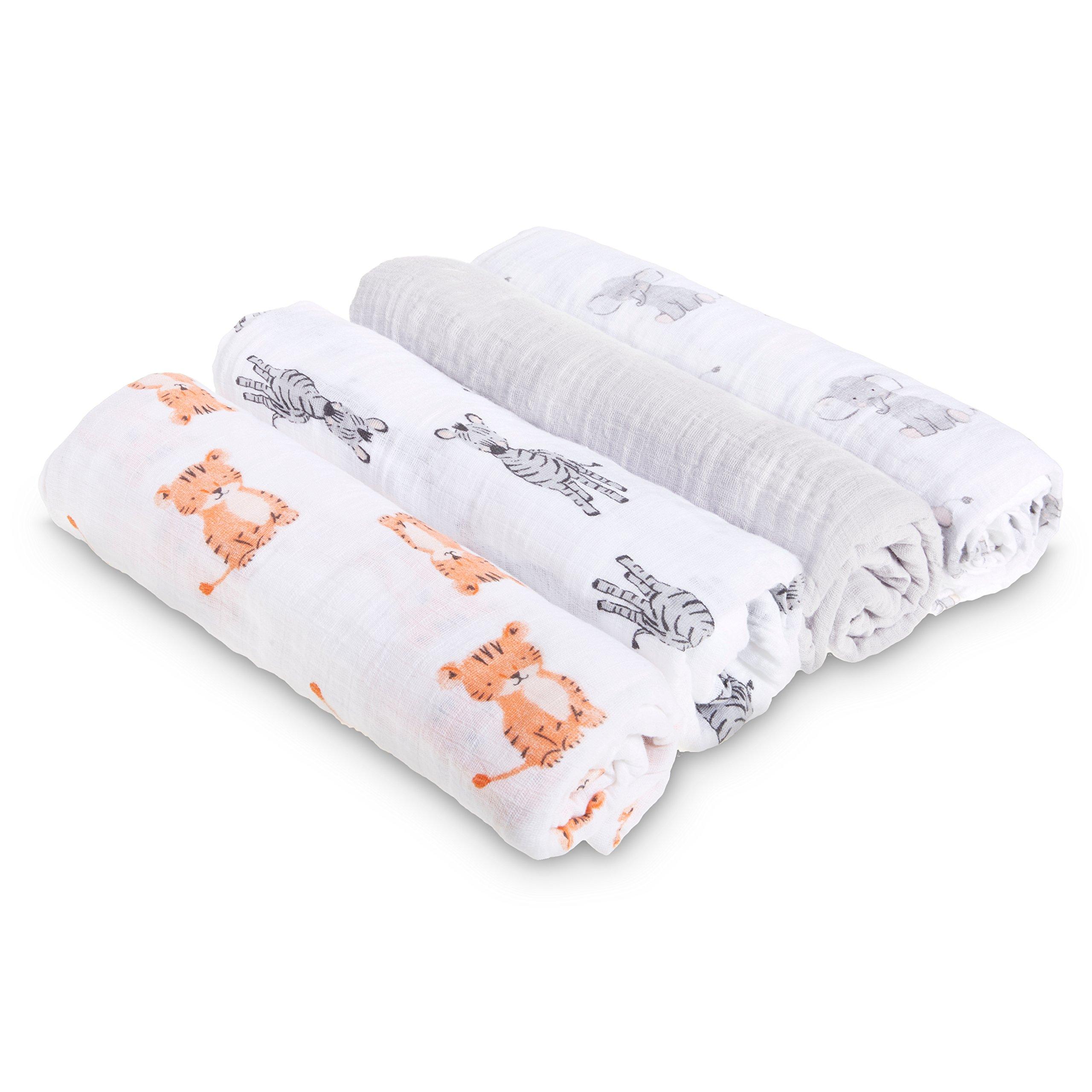 anais Stroller Blanket Safari Babes - Tiger Free Shipping! aden by aden