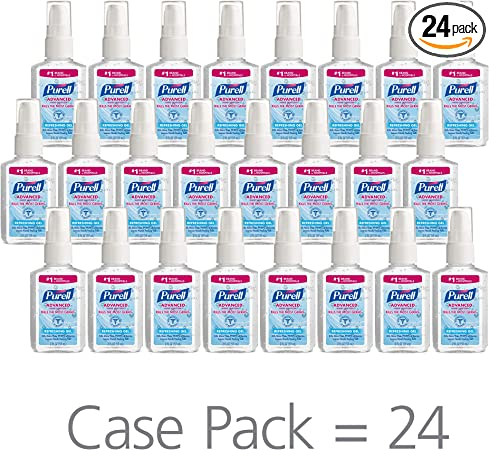 Amazon Com Purell Advanced Hand Sanitizer Refreshing Gel 2 Fl