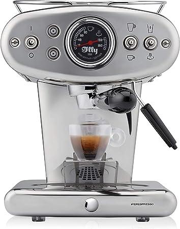 Illy X1 Anniversary ipere mediaespresso Cápsula + Coffee – Cafetera de espresso, acero inoxidable): Amazon.es: Hogar