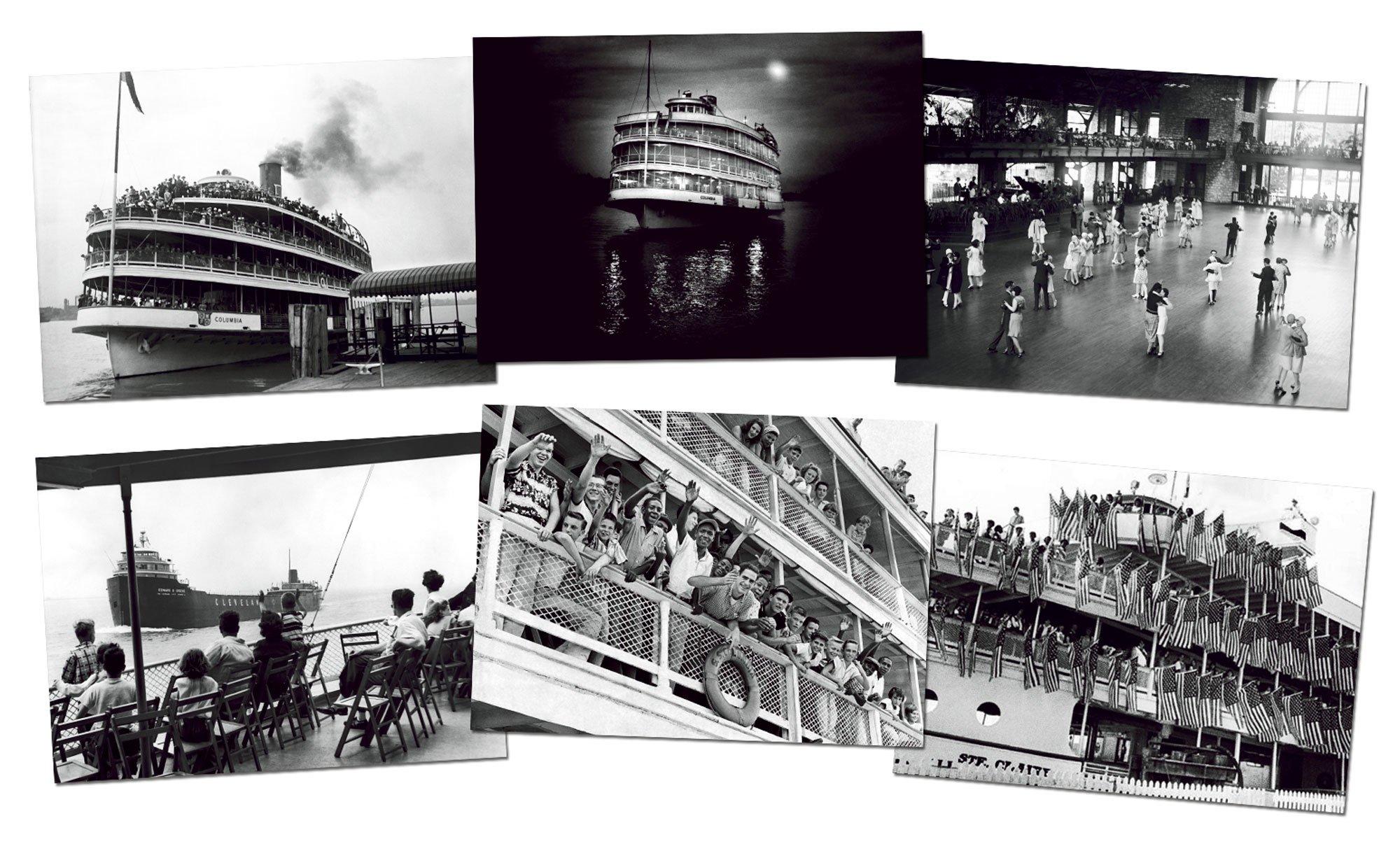 Avanti Historic Detroit Note Card Collection, Bob-Lo Favorites, 6-Count (32517)