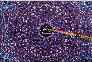 Sunshine Joy Pink Floyd The Dark Side Of The Moon Tapestry Lyrics Purple 60x90 Inches