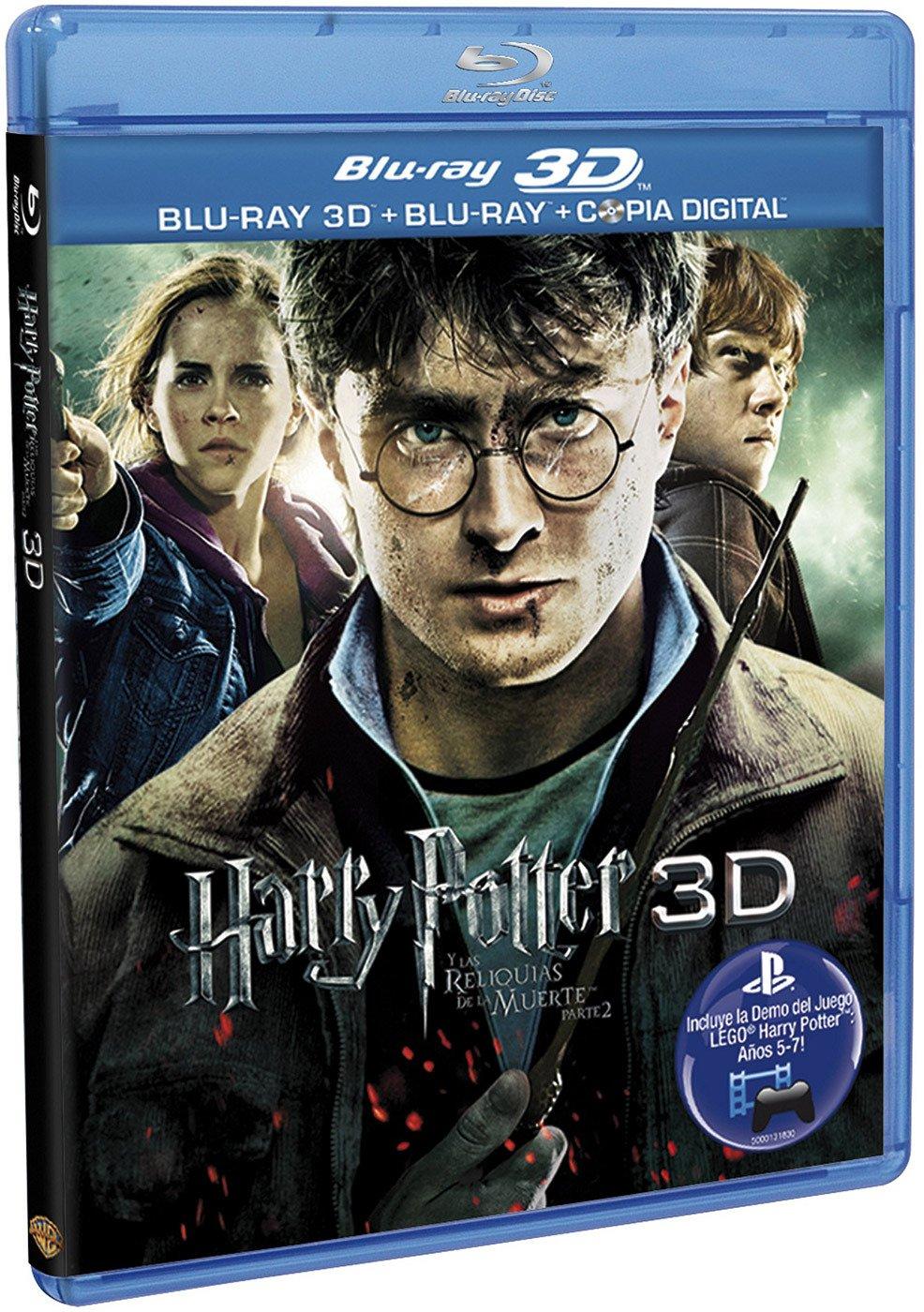 Harry Potter Y Las Reliquias De La Muerte - Parte 2 [Blu-ray 3D] [Import espagnol]