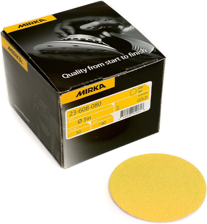 Mirka 23-332-400 Bulldog Gold 5-Inch PSA Disc 400 Grit