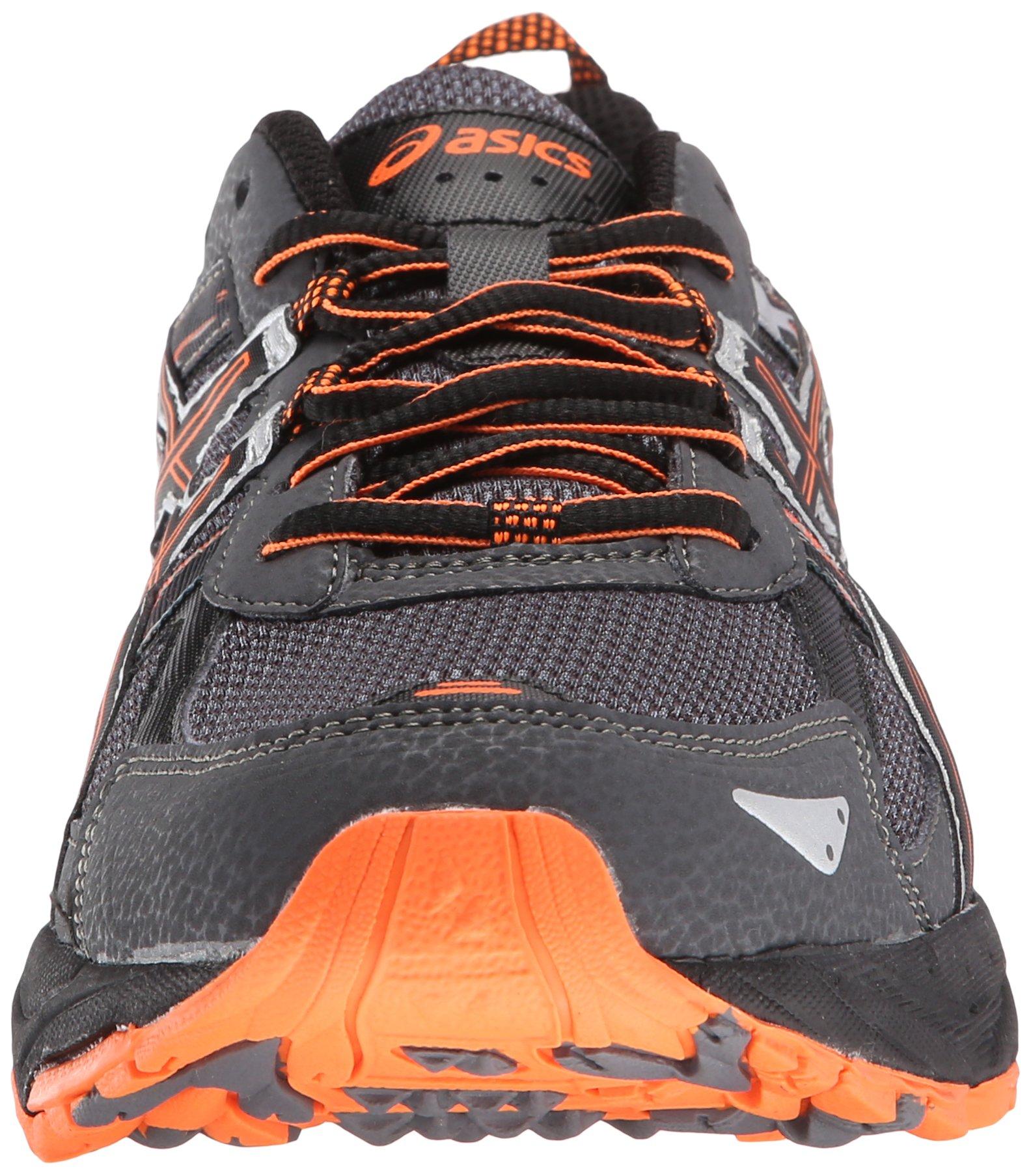 ASICS Men's Gel-Venture 5-M, Carbon/Black/Hot Orange 7.5 M US by ASICS (Image #4)