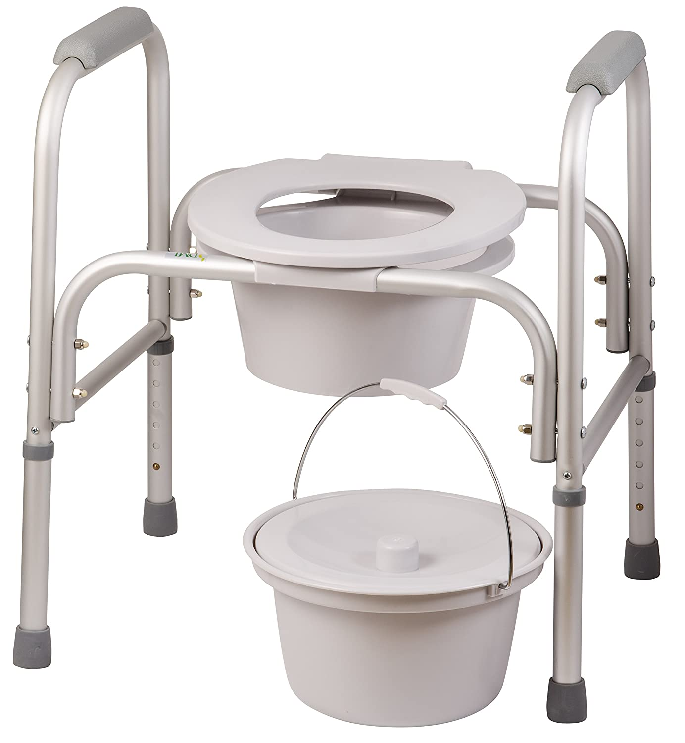 Dmi 3 In 1 All Purpose Free Standing Bedside Commode