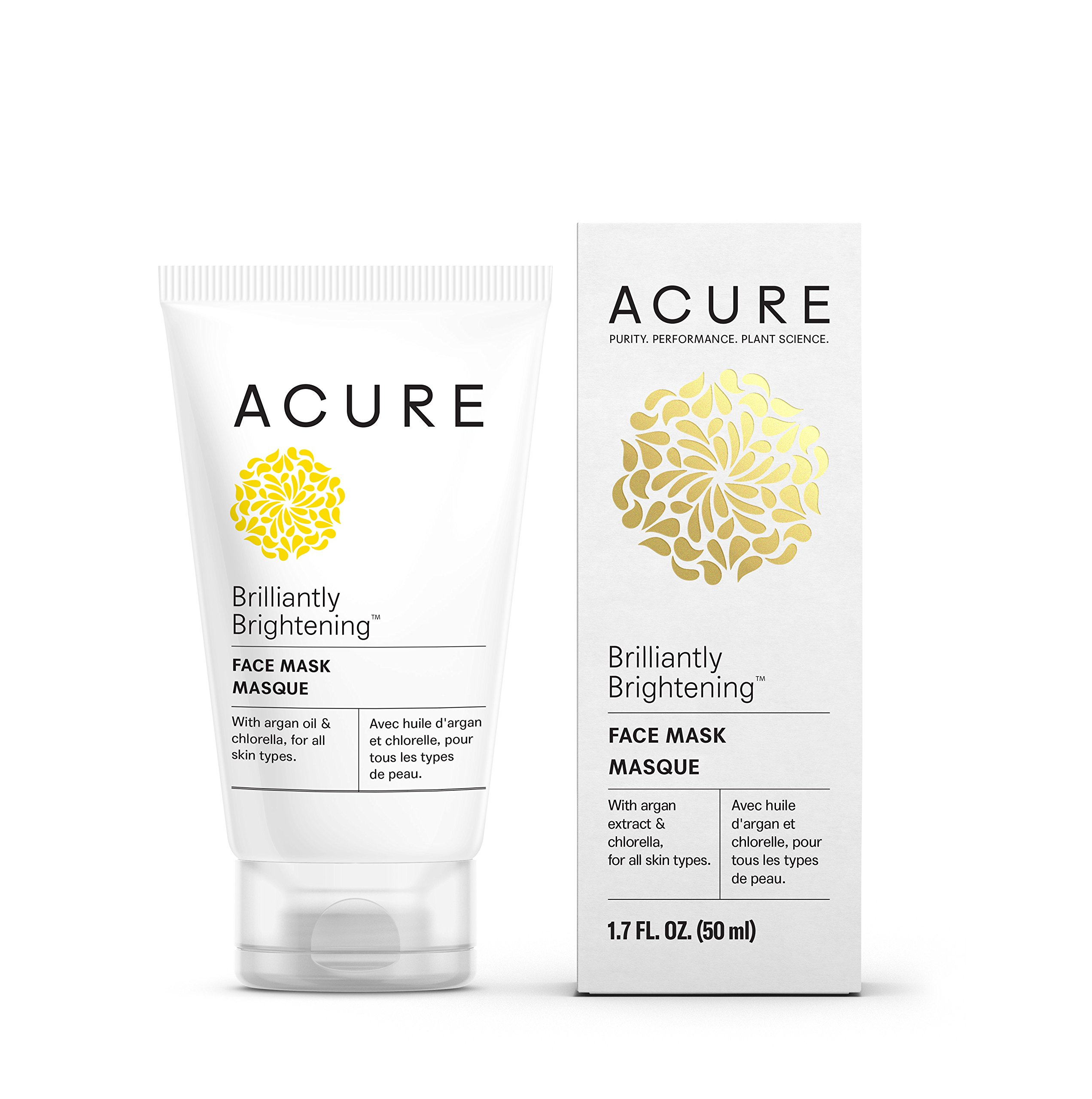 Acure Brilliantly Brightening Fruit Peel, 1.4 Fluid Ounce