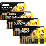 Duracell MN1500 Plus Power AA Size Batteries--Pack of 32