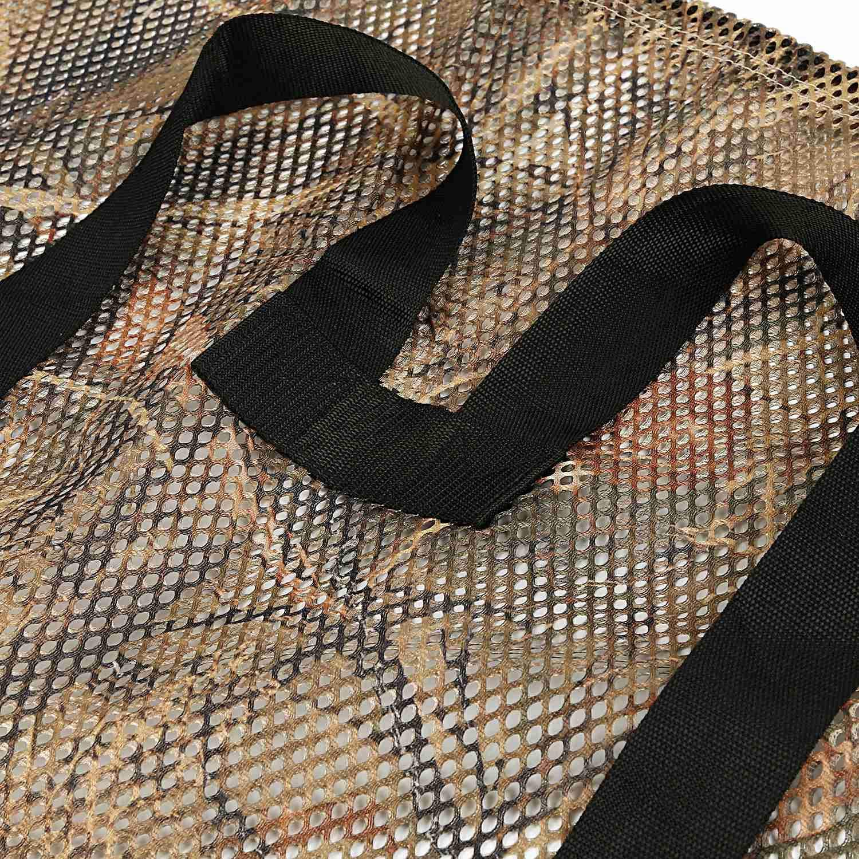 Borsa da caccia in rete di poliestere con stampa mimetica ad erba secca motivo: uccelli acquatici CUHAWUDBA colore: Turchia