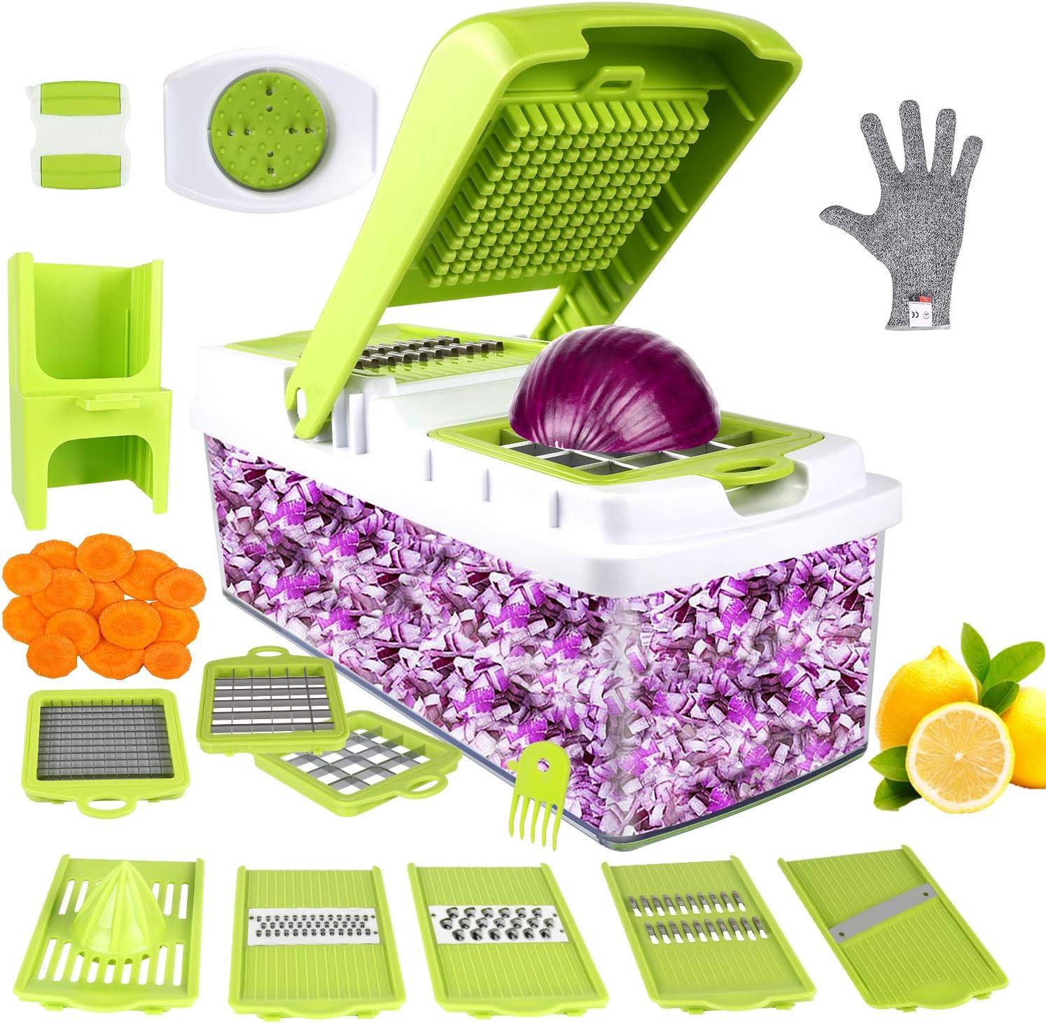 Handheld Vegetable Spiral Slicer Cutter Chopper Spiralizer Shred Fruit 2018 UK M