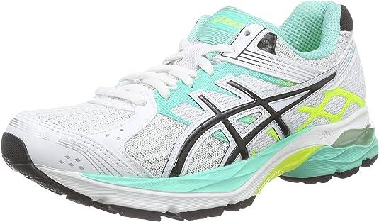 ASICS Gel-Pulse 7, Zapatillas de Running para Mujer, Blanco (White/Silver/Flash Yellow 0193), 37.5 EU: Amazon.es: Zapatos y complementos